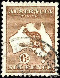 world postage stamps | World Stamp Pictures - Australian Stamp 4 - Stamp Australia 1929 6p ...