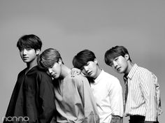 Jungkook, Jimin, Suga & J-Hope /// BTS /// stunning beauties (♡●♡) xxx