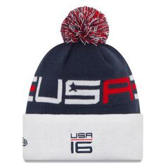 38c78ea45ad5 Ryder Cup New Era Practice Knit Beanie - Navy/White Ryder Cup, Knit Beanie