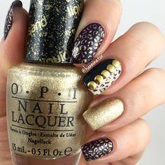 More leopard print nails