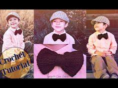 Corbata de Moño CROCHET TUTORIAL | Tejiendo Con Erica - YouTube