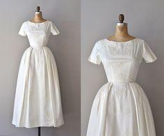 Lucrezia wedding gown • vintage 1950s wedding dress • 1960s wedding dress