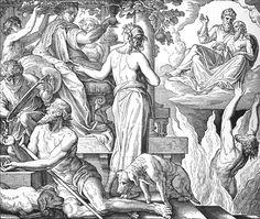 Bilder der Bibel - Der reiche Mann und der arme Lazarus
