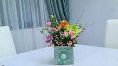 Flower Arrangements, Glass Vase, Bring It On, Concept, Flowers, Home Decor, Floral Arrangements, Decoration Home, Room Decor