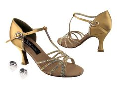 Ladies Women Ballroom Dance Shoes from Very Fine Competitive Dancer CD2802 25Heel 65 Tan Satin ** To view further for this item, visit the image link.(This is an Amazon affiliate link)
