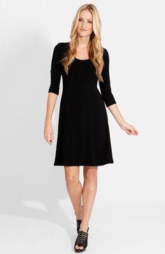 Karen Kane Karen Kane A-Line Jersey Dress available at #Nordstrom