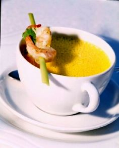 Curry Cappuccino with Lemongrass Recipe.