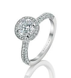 Diamond Engagement Rings - Platinum Diamond Engagement Rings - White Gold Engagement Rings   Boodles
