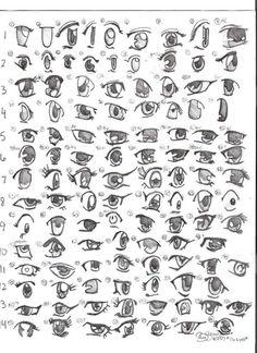 Manga eyes #4