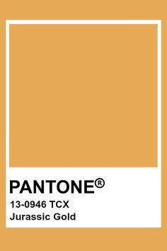 Pantone Jurassic Gold Pantone Tcx, Pantone Swatches, Color Swatches, Paint Swatches, Gold Pantone Color, Yellow Pantone, Pantone Colour Palettes, Pantone Colours, Colour Pallete
