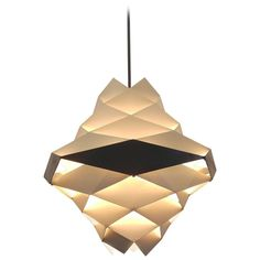 Danish Mid-Century Pendant Lamp Designed by Preben Dal | From a unique collection of antique and modern chandeliers and pendants at https://www.1stdibs.com/furniture/lighting/chandeliers-pendant-lights/