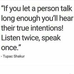 No truer words spoken.