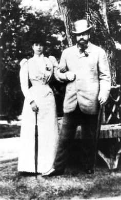 Maria Feodorovna and Alexander III.