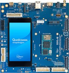 Intrinsyc Open-Q μSoM is an ultra-compact system-on-module powered by Qualcomm Snapdragon embedded platform with RAM, a wireless module. System On A Chip, Existing Customer, Development Board, Linux, Compact, Ali, Boards, Android