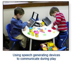 Speech Buddies: Using AAC Devises: Explanation around using AAC devises to compliment speech therapy rather than replace it.  Children who use AAC devices are encouraged to increase their nonverbal and verbal communication.  This is an quick and simple overview.
