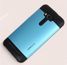 """Zenfone 2 Case Hard Armor Rubber Cover Defender Case For Asus Zenfone 2 Laser Case 5.0"""" ZE500KL ZE500KG 5.5"""" ZE550KL Case Bag"""