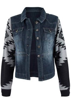 Pinto Ranch - Ryan Michael Denim and Sweater Jacket, $148.00 (http://www.pintoranch.com/ryan-michael-denim-and-sweater-jacket.html)