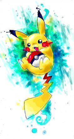 Naaraskettu from another Pikachu - - Art - Pokemon Pikachu Pikachu, Pikachu Mignon, Deadpool Pikachu, Pikachu Tattoo, Pikachu Drawing, Cute Pokemon Wallpaper, Cartoon Wallpaper, Pokemon Legal, Anime Pokemon