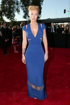 Grammys 2015 Red Carpet: Best And Worst Dressed Celebrity Red Carpet, Celebrity Dresses, Celebrity Style, Celebrity Photos, Celebrity News, Lady Gaga, 57th Annual Grammy Awards, Marine Uniform, Vogue