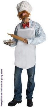 The Muppets - The Swedish Chef Adult Costume  $37.32