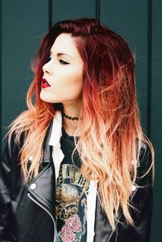 Beckham bob hairstyle women hairstyles ombre curly hair,women hair highlights low lights high hairstyles,how to make a bouffant ponytail latest short hairstyles 2016 ladies. Orange Ombre Hair, Blond Ombre, Red To Blonde, Ombre Hair Color, Blonde Color, Hair Colors, Orange Red, White Ombre, Short Ombre