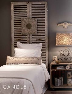 aiden grey is my favorite~european furnishings with great weathered grey pieces! Simple Headboard, Interior, Home Furnishings, Home, Bedroom Inspirations, Guest Bedroom Decor, Grey Room, Interior Design, Furnishings