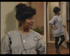 Claire Huxtable had THE best style....her and Denise