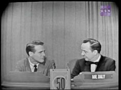 Paul Newman on What's My Line in He is still my favorite actor :) What's My Line, One Seven, Henry Mancini, Line Game, I Dare You, Paul Newman, Celebrity Names, New People, Growing Up