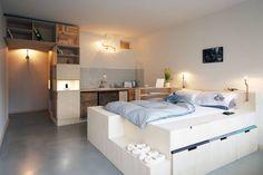 Main space : Dormitorios eclécticos de spamroom