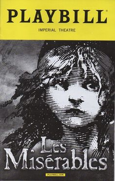 "This playbill is from the evening performance of ""Les Miserables"" from July 19, 2016.   On the night I saw it, Jean Valjean was played by Will Ray, John Owen-Jones's understudy.  I had previously seen Will Ray play the part of Joe Gillis in ""Sunset Boulevard"" at the Drury Lane Theatre in Oakbrook Terrace, IL.   It was great to see him in another show, and he did a great job."