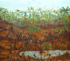 John Olsen. Terrific painting.