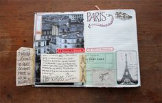 besottment by paper relics, love her #journals. #mixedmedia