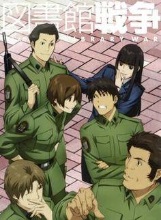 Toshokan Sensou: Library War/Serie