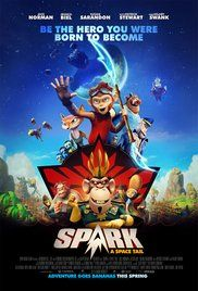 Spark, a teenage monkey and his friends, Chunk and Vix, are on a mission to regain Planet Bana - a kingdom overtaken by the evil overlord Zhong.