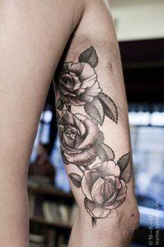 Grey roses...
