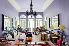 Lebanese Style - Architectural Digest article and more photos here:  www.architecturaldigest.com/decor/2012-05/may-daouk-beirut-home-article