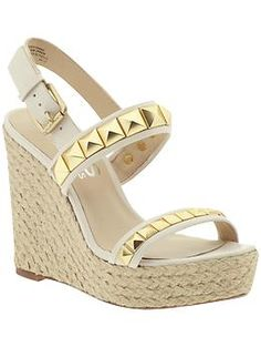 i am getting so excited for spring...i miss wedges and i need these