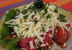 Caprese Salad, Food, Red Peppers, Essen, Meals, Yemek, Insalata Caprese, Eten