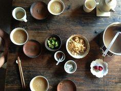 okayu (= rice porridge) meal