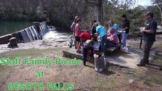 Staff Family Picnic at DESOTO FALLS #picnic #family #waterfalls