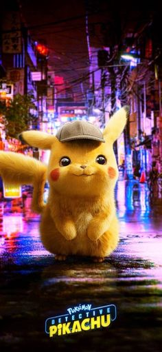Dectetive Pikachu wallpaper by - 43 - Free on ZEDGE™ Pikachu Pikachu, Pikachu Mignon, Lucario Pokemon, Deadpool Pikachu, Pokemon Red, Pokemon Party, Pokemon Birthday, Pokemon Fusion, Cute Pokemon Wallpaper