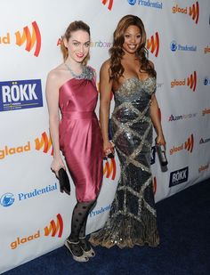 Jamie Clayton and Laverne Cox Photos: 22nd Annual GLAAD Media Awards - Arrivals