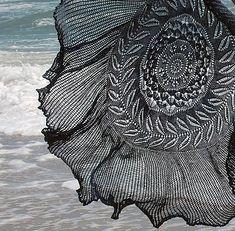 Ravelry: Shipwreck Shawl pattern by Knitting Harpy Knit Or Crochet, Lace Knitting, Crochet Shawl, Peacock Crochet, Summer Knitting, Shawl Patterns, Knitting Patterns Free, Free Pattern, Knitting Magazine