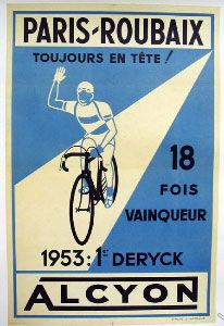 Classic Cycling Poster.
