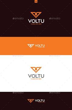 Voltu Logo Template PSD, Vector EPS, AI Illustrator