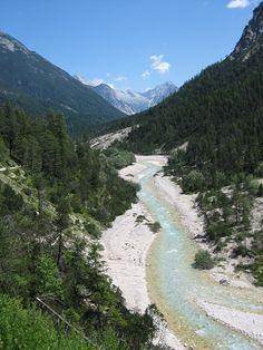 Isar River- wunderschön , auch schon mit kanu gefahren