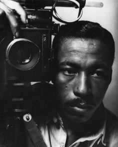 Gordon Parks, self-portrait, 1945  ""