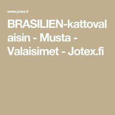 BRASILIEN-kattovalaisin - Musta - Valaisimet - Jotex.fi