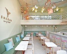 Design firm party/space/design have recently completed SHUGAA, a new dessert bar in Bangkok, Thailand