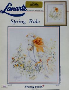 Lanarte Lifestyles SPRING RIDE By Stoney Creek Collection - Counted Cross Stitch Pattern Chart on Etsy, Sold